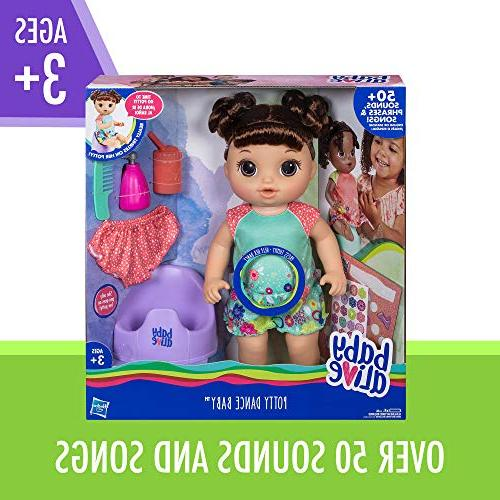 "Baby Alive Baby: Talking Baby with Rewards More, Doll ""Pees"" On Girls & Boys Years Old & Up"