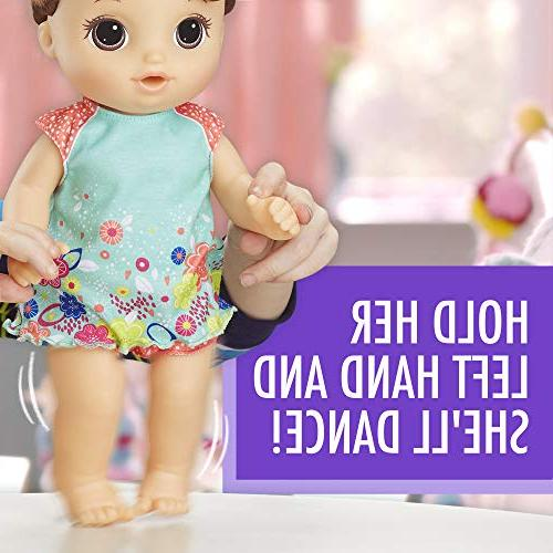 Baby Alive Dance Baby: Baby with Hair, Potty, Rewards Undies & More, On Potty, For Girls 3