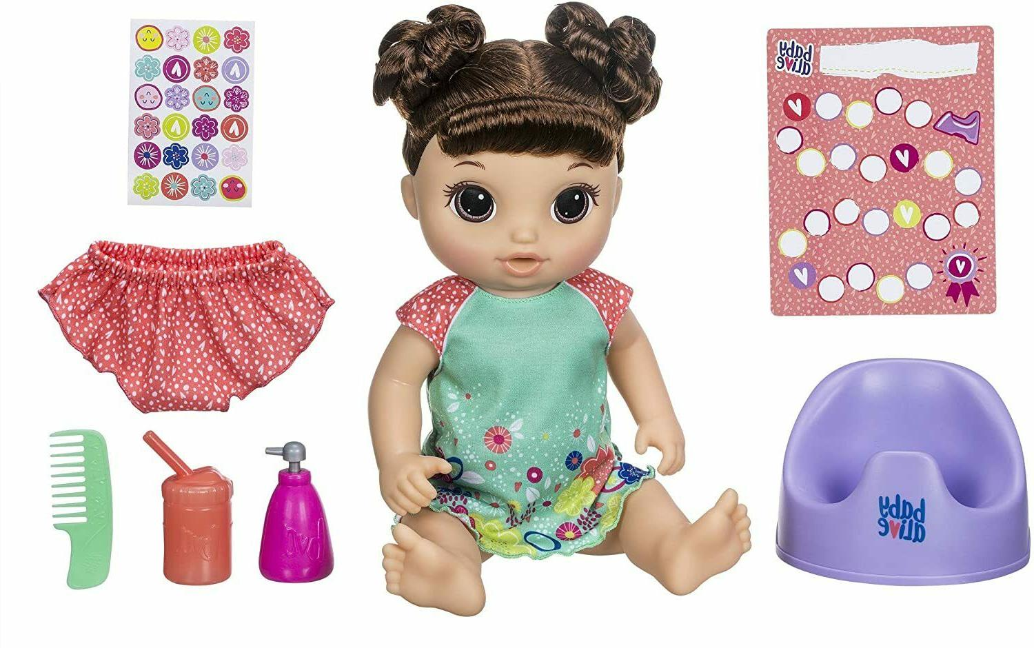 Baby Alive Potty Dance Baby Potty Talking Baby Doll with Blonde Hair Rewar...