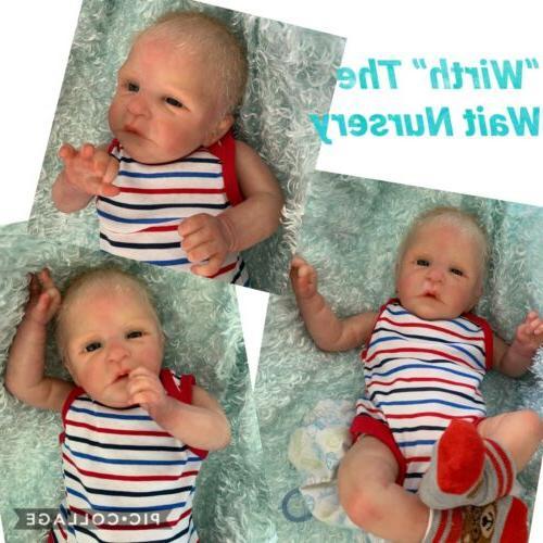 Reborn Preemie Boy LE By the Wait Nursery