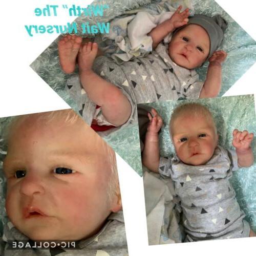 """Reborn Preemie Boy LE Roux By """"Wirth"""" Nursery"""