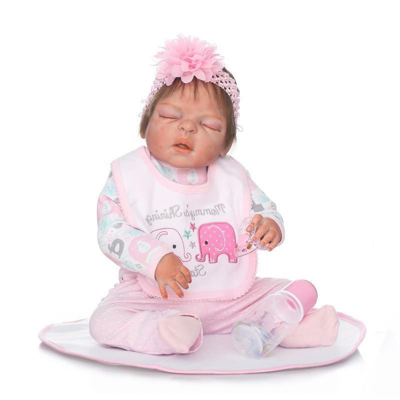 Reborn Dolls Life-like Waterproof Silicone Full Body Toddler