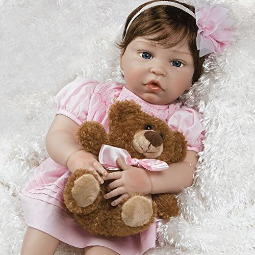 realistic handmade baby doll girl