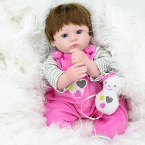 Realistic Baby Dolls Girl Vinyl Alive Doll Toy