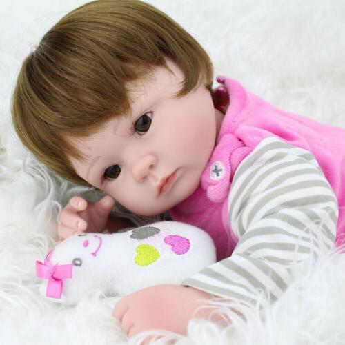 Realistic Girl Lifelike Vinyl Alive Doll