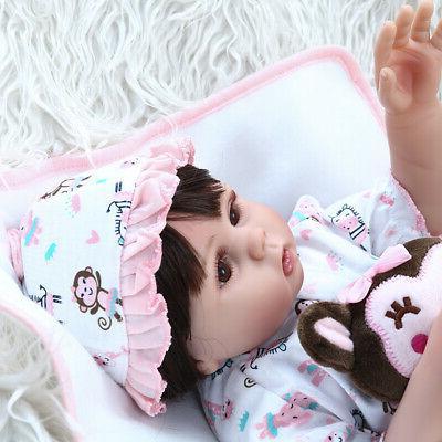 "Realistic Reborn Dolls Full Girl Doll 18"""