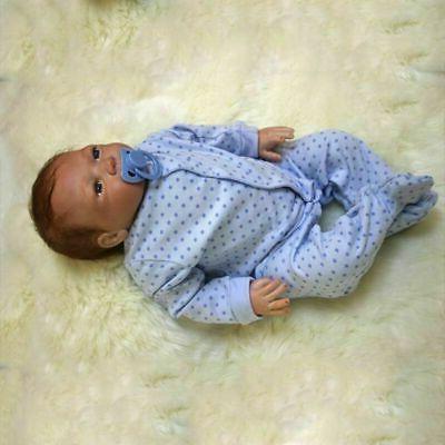 """Realistic Reborn Newborn Doll 22"""" Vinyl Silicone"""