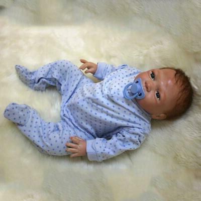 Realistic Newborn Doll Vinyl Silicone Dolls Xmas
