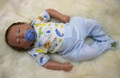 reborn baby boy doll 18 lifelike newborn