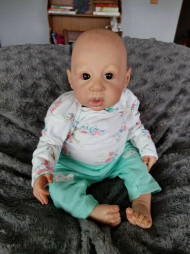Newborn Anna Maria By Scherer