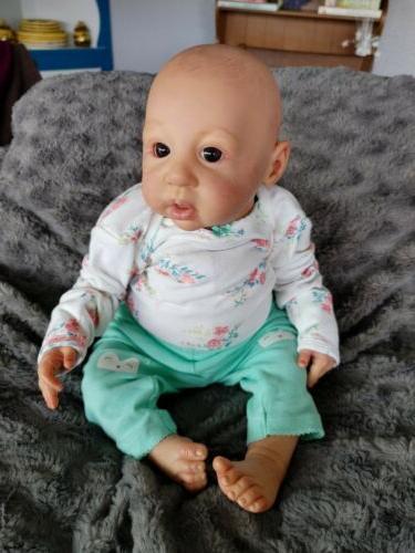 Reborn Doll Newborn Anna By Linde Scherer OOAK