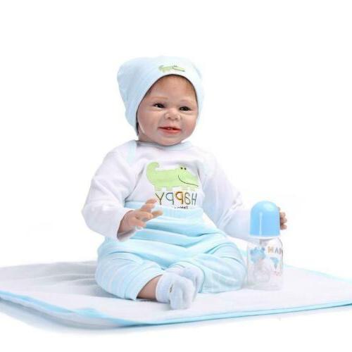 NPK Baby Realistic Dolls Vinyl Boy