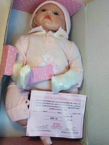 NPK Collection Reborn Baby Doll realistic baby Vinyl Silicone Babies 22inc