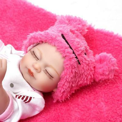 Reborn Baby Doll Girl Full Silicone Realistic