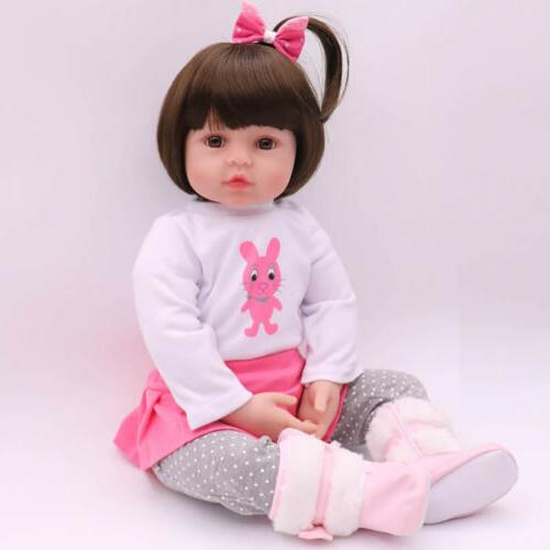 """Reborn Baby 16"""" Handmade Gifts Doll Toy"""
