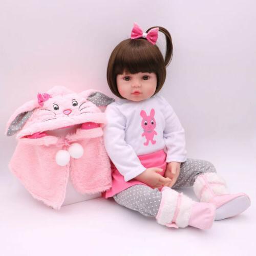 reborn baby girl dolls 16 newborn silicone