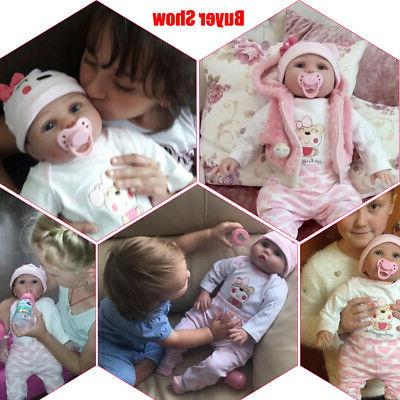 Reborn Real Baby Doll Silicone Vinyl Lifelike Gifts