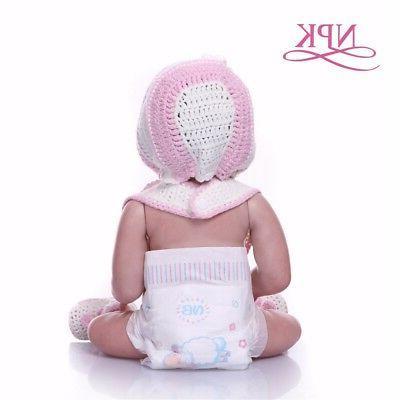 Reborn Baby Dolls 20'' Full Body Silicone Bath