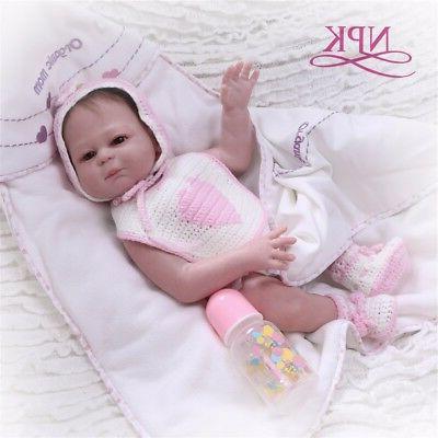Reborn Girl Dolls 20'' Silicone Newborn Touch Bath