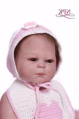 Reborn 20'' Full Body Vinyl Silicone Newborn Bath Toy