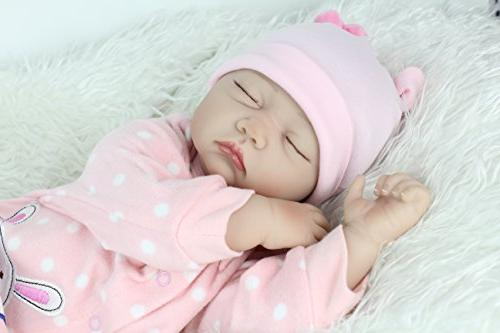 "PENSON RDRBB029700 & 22"" Doll Realistic Lifelike Weighted 3+, Soft"