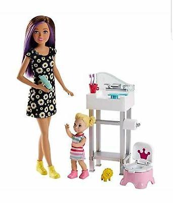 skipper babysitters potty training playset