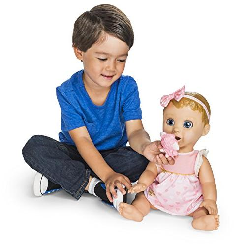 Spinmaster Blonde Hair Responsive Doll with and