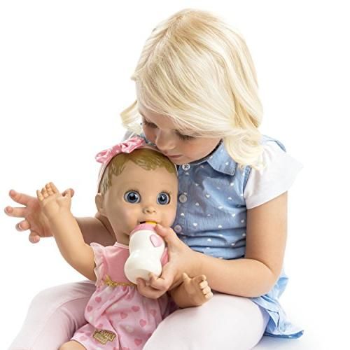 Spinmaster Luvabella - Blonde Hair Responsive Doll and