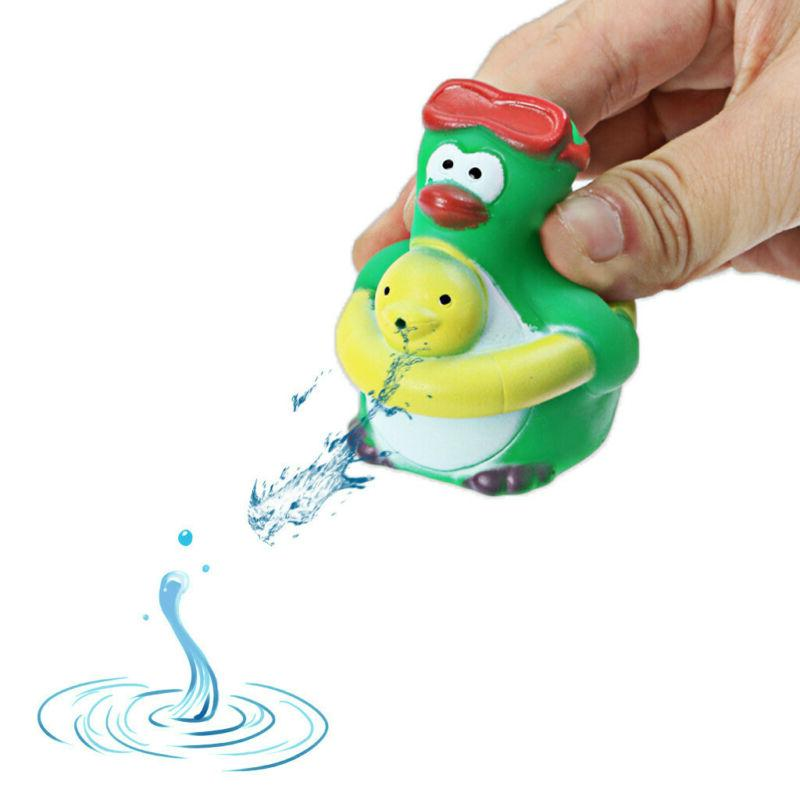 Stack Cup Spray Bath Toy Pool Baby Water Doll Set