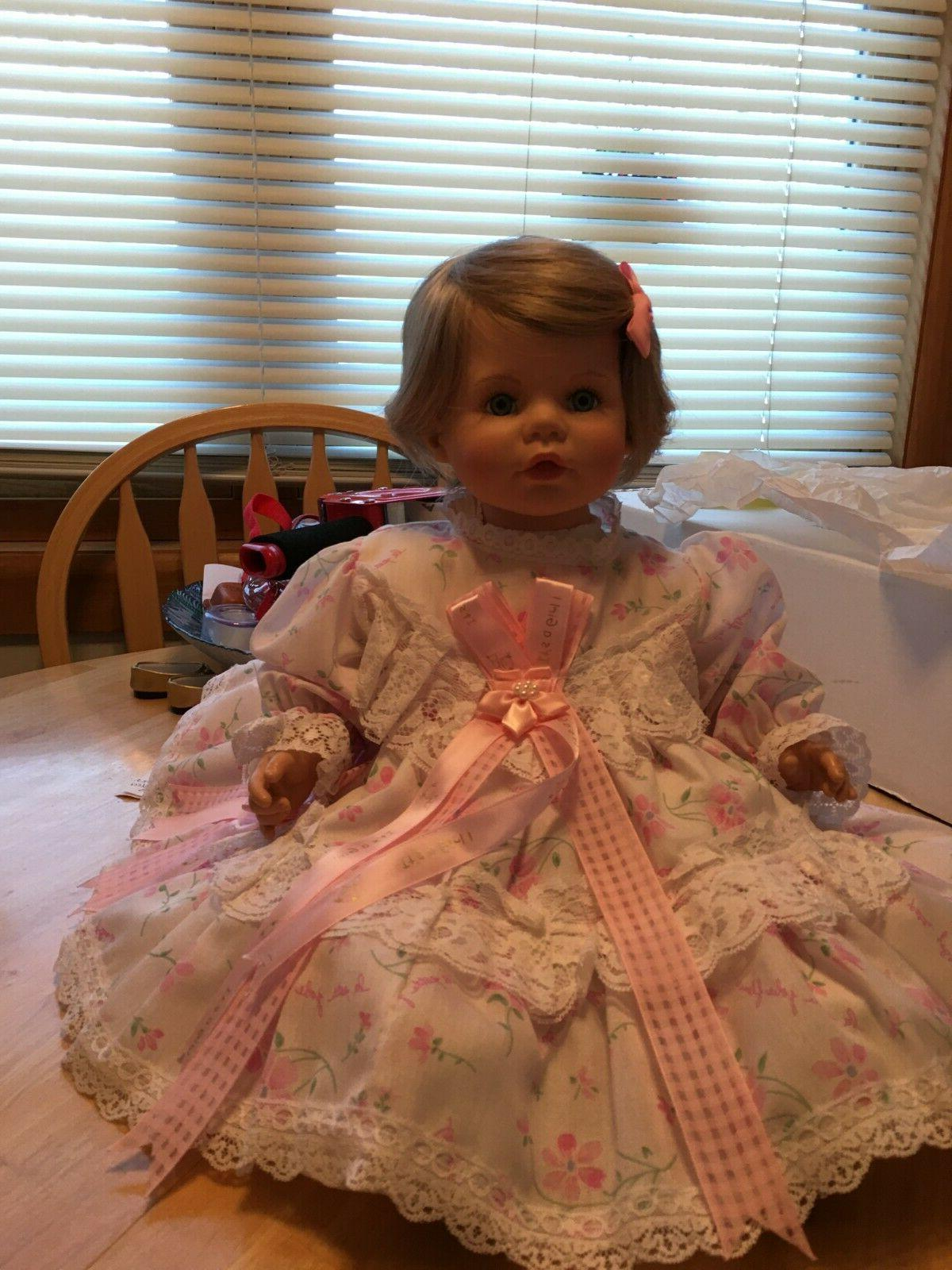 susan wakeen collectors baby reborn type doll