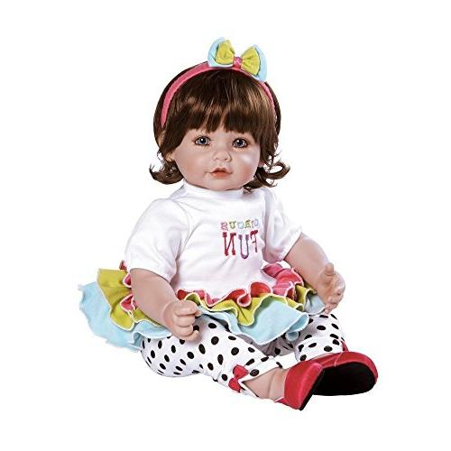 toddler circus fun weighted doll