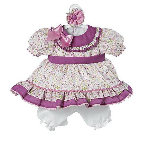 toddler time floral play doll