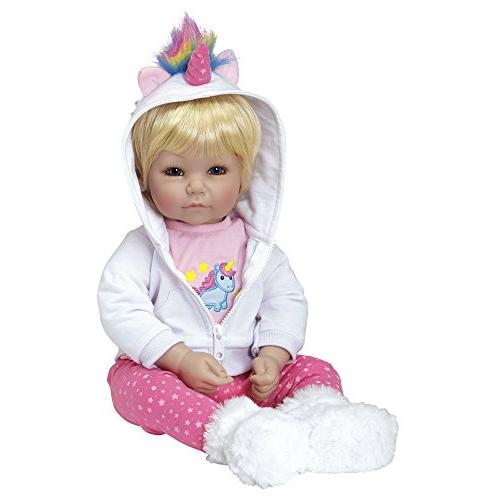 """Adora 20"""" Girl Weighted Gift Children 6 Cuddly Snuggle Body Toy"""