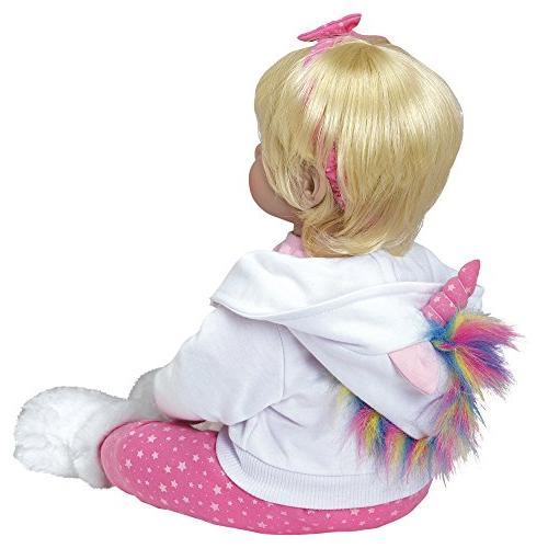 "Adora Toddler ""Rainbow 20"" Girl Gift 6 Snuggle Soft"