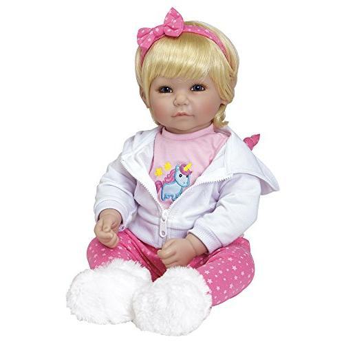 """Adora 20"""" Girl Gift 6 Huggable Snuggle"""