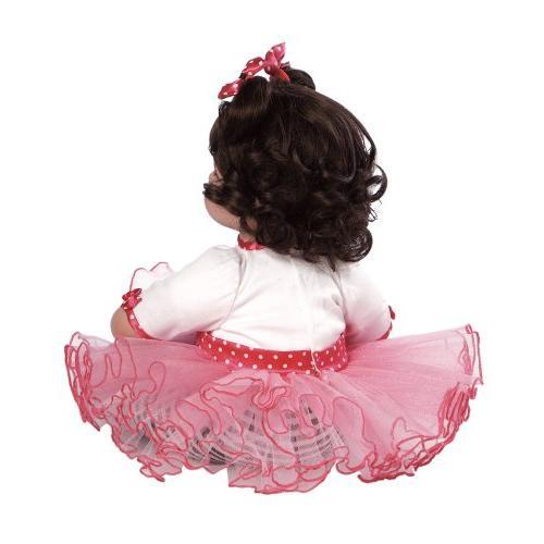 "Adora Toddler Zebra 20"" Girl Weighted Snuggle Soft"