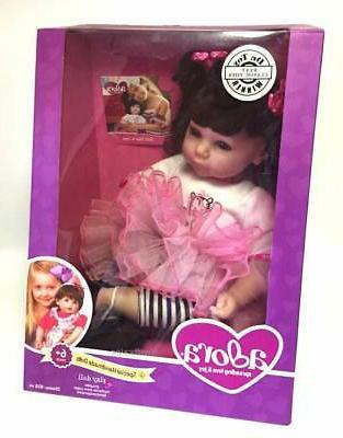 toddler zippy zebra weighted doll