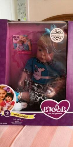 "💕🌹Adora ToddlerTime "" E.I.E.I.O"" 20 Inch Doll In Manuf"