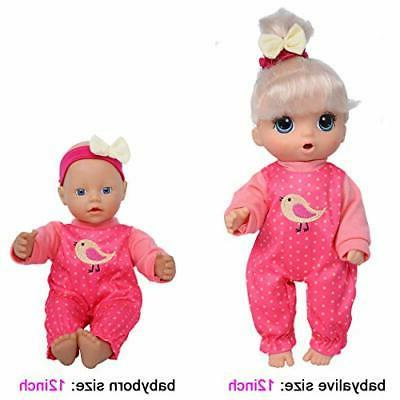 Total 10-Sets Doll Outfits Accessories 10-inch Dolls