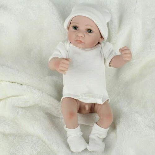 """10"""" Twins Baby Full Boy Doll Reborn"""