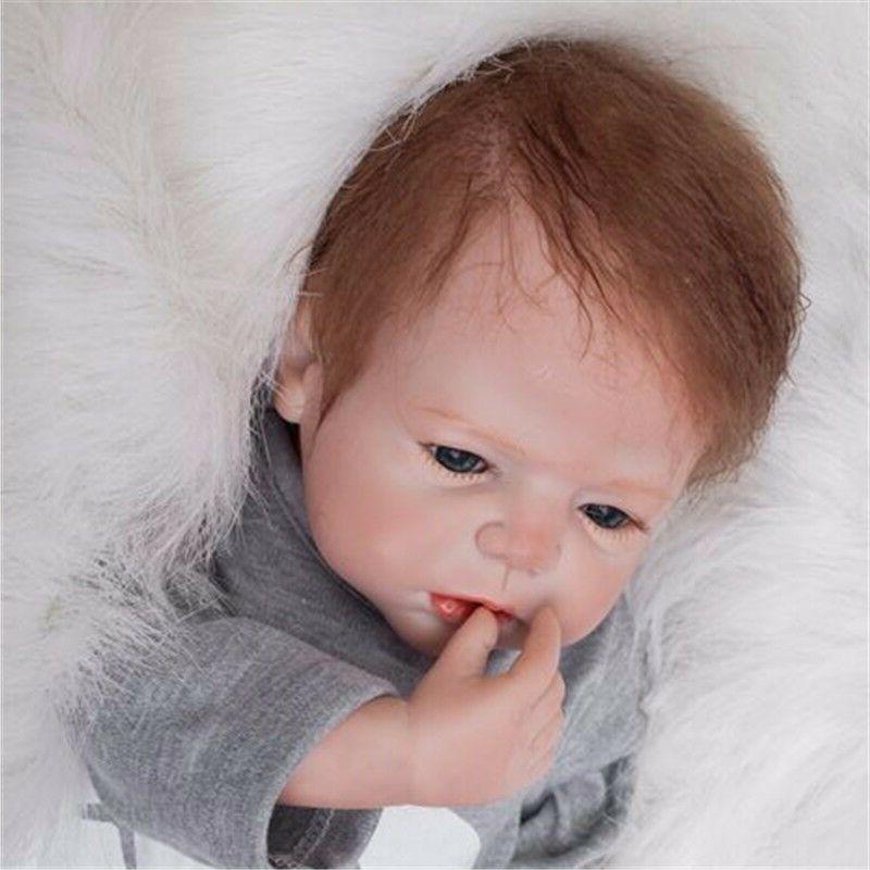 22'' Body Reborn Baby Silicone Newborn Toy