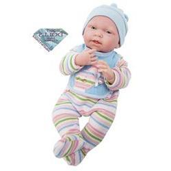 JC Toys All Vinyl Body Life Like Baby Dolls for Girls - Anat