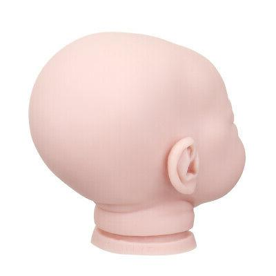 Vinyl Silicone Reborn Baby Doll Accessories Lifelike Toddler Gifts No Body