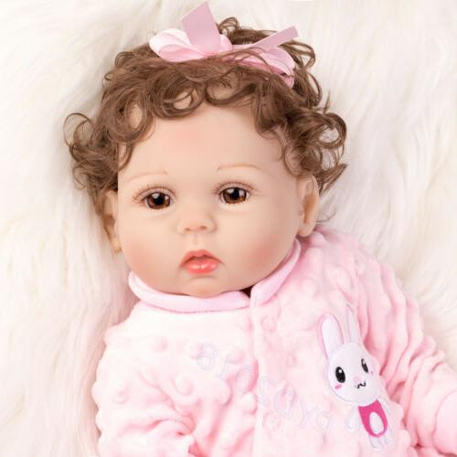Waterproof Baby Silicone Vinyl Doll