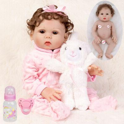 waterproof 18 reborn baby dolls full body