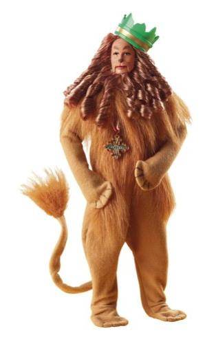wizard oz barbie cowardly lion
