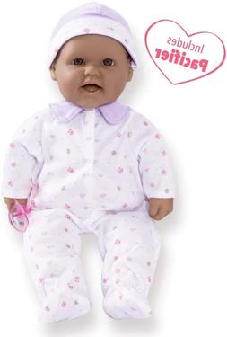 JC Toys, La Baby 16-inch Hispanic Washable Soft Baby Doll wi