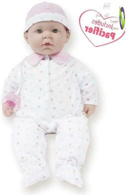 Jc Toys, La Baby 20-Inch Soft Body Pink Play Doll - For Chil