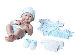 La Newborn Nursery 8 Piece Layette Baby Doll Gift Set, featu