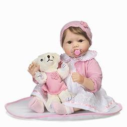 "ZIYIUI Lifelike 22"" Handmade Newborn Baby Doll Realistic Bab"